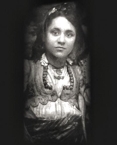 年青時的德蘭修女
